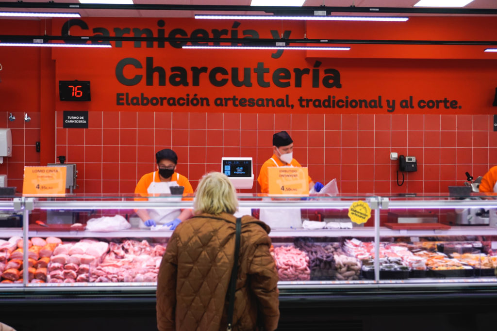 señalética supermercado