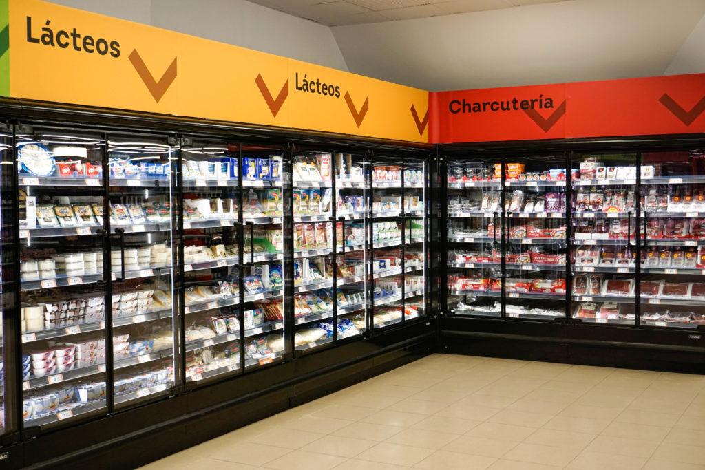 cartelería supermercado