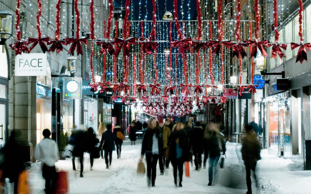 Estrategias de visual merchandising y escaparates para Navidad
