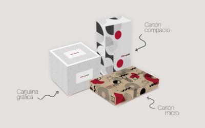 Cartón y cartulina, los materiales más utilizados para el packaging de producto.
