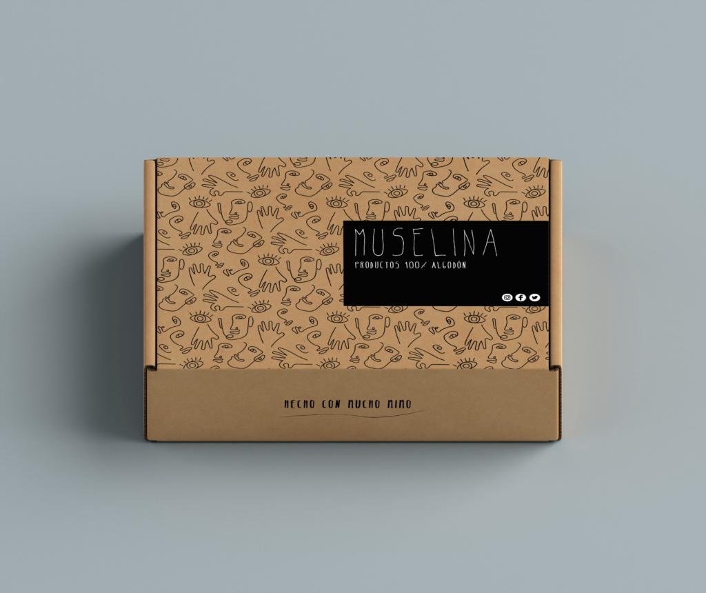 Packaging cartón micro
