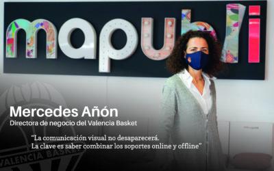 """Entrevista a Mercedes Añón, directora de negocio del Valencia Basket: """"La comunicación offline no desaparecerá, la clave es saber combinarla con la online"""""""