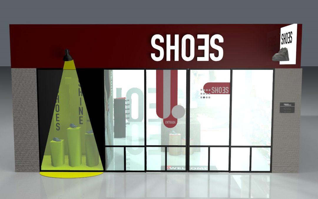 Visibilidad de marca y producto en el punto de venta  para el sector calzado