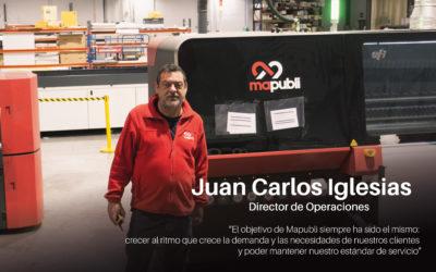 Entrevista a Juan Carlos Iglesias: Cómo adecuar el área de operaciones al crecimiento continuo de Mapubli.