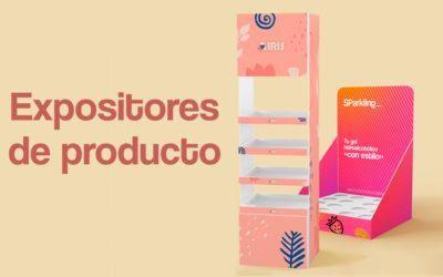 Expositores de producto: Tipos y materiales más utilizados.